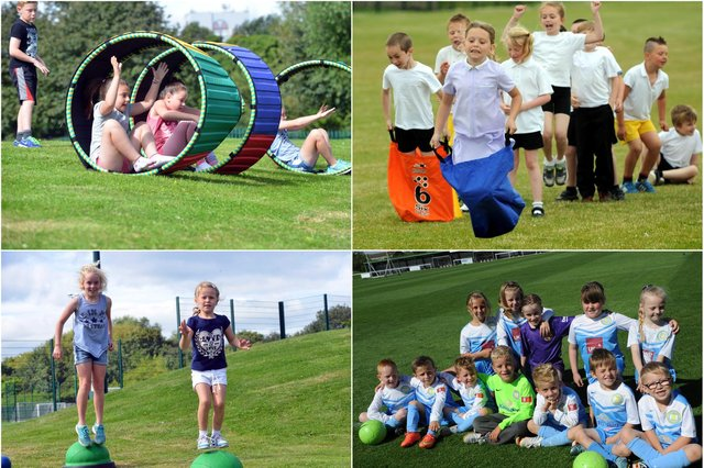 Running and jumping back to these South Tyneside sports day photos.