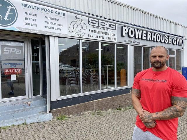 Rhys Iles of Powerhouse Gym.