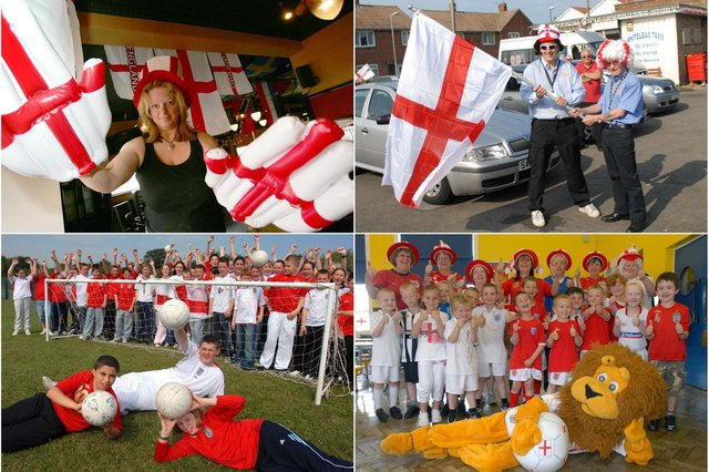 They were all behind England over the years. Does this bring back great memories?
