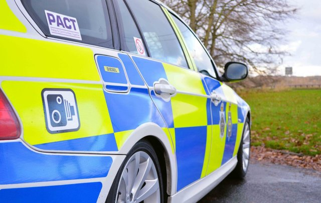 Durham Constabulary's Road Policing Unit brought the suspected stolen van to a stop using a stinger device.