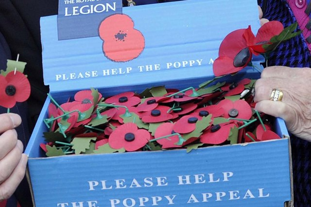 Royal British Legion to stop selling poppies in the EU due to red tape following Brexit