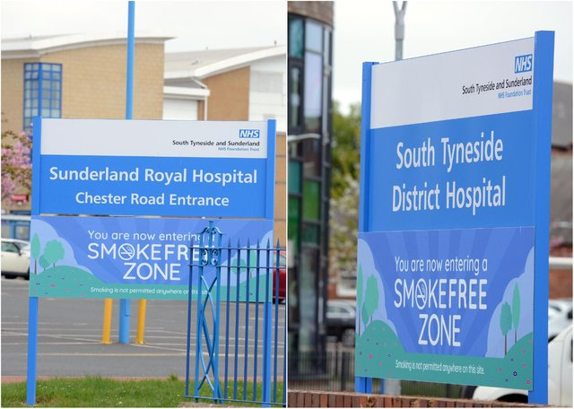 Staff at Sunderland and South Tyneside hospitals have been asked to 'postpone' holidays following a surge in coronavirus cases.