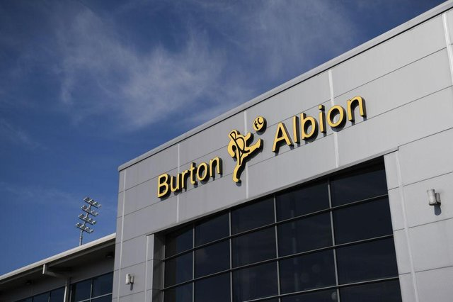 Pirelli Stadium, the home of Burton Albion. (Photo by Michael Regan/Getty Images)