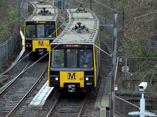 The Metro is not running between Bede and South Shields following a track fault.