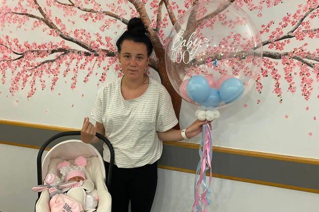 Mum Chloe Ireland and baby Willow