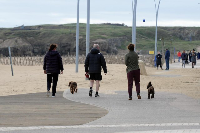 The cold weather looks set to continue this weekend in South Tyneside.