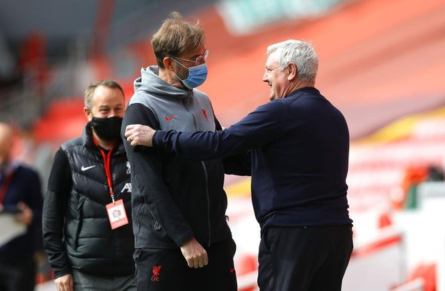 Newcastle United and Liverpool could face each other in pre-season, according to a report. (Photo by David Klein - Pool/Getty Images)