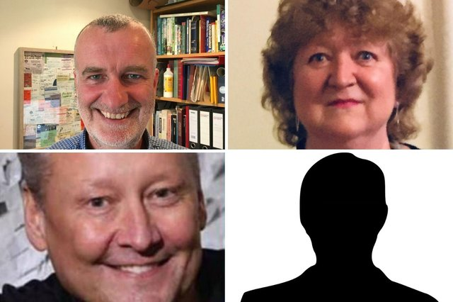 The candidates for the Bede ward