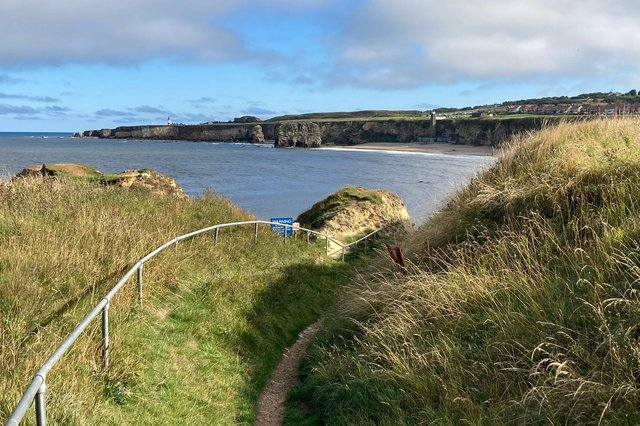 The South Shields Volunteer Life Brigade was called out to Camel Island at Marsden after concern for a man.