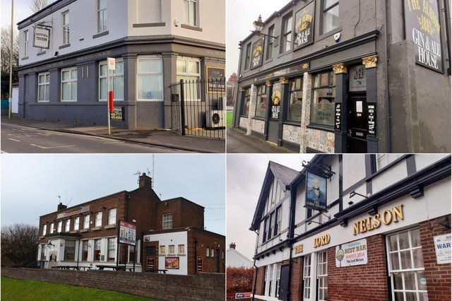 Clockwise from top left, Dougie's Tavern, the Albion, the Lord Nelson and the Prince of Wales are among the bars expected to open on April 12.