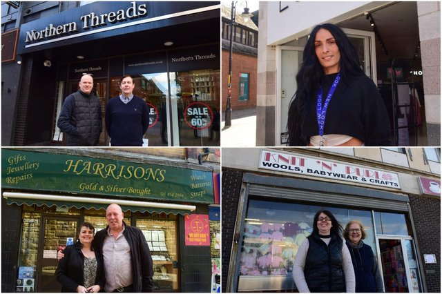 South Shields shops were delighted to reopen on April 12.