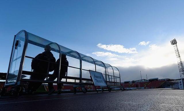 Gateshead Stadium.