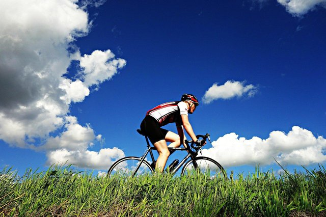 if you spend hour after hour on the saddle of your bicycle, and you haven't prepared by doing the right lower back strengthening exercises, then you should expect to suffer back pain.