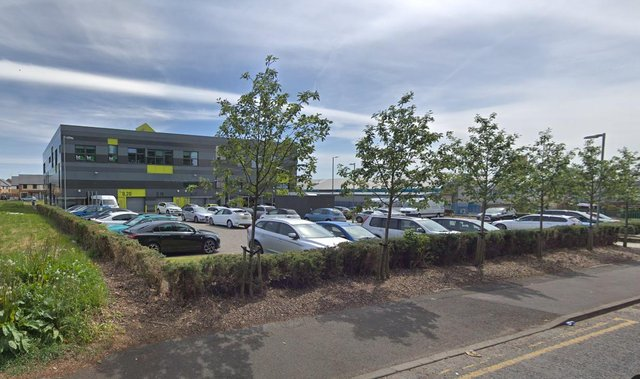 One Trinity Green. Land nearby will become a free public car park.