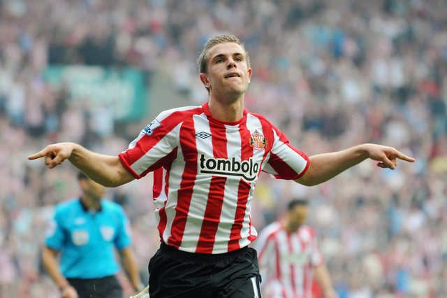 Jordan Henderson during his time with Sunderland.