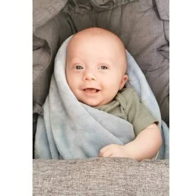 Hunter sadly passed away in his sleep at just three-and-a-half-months old