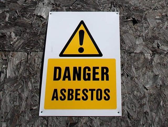 Asbestos death toll