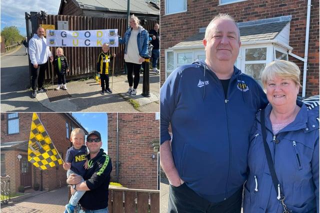 Hebburn fans have had their say ahead of the FA Vase final at Wembley.
