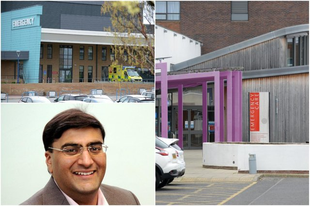 Dr Shaz Wahid, Medical Director of South Tyneside and Sunderland NHS Foundation Trust, has asked patients to consider the right place to see care after a rise in people attending A&E departments at its hospitals when they could have sought advice from their GP, 111 service or from a pharmacy.