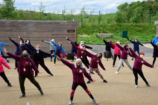 The cast of epic outdoor theatre production Kynren have made an emotional return to their stage on the outskirts of Bishop Auckland. Picture: North News and Pictures