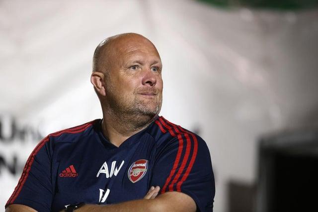 Andy Woodman at Arsenal.