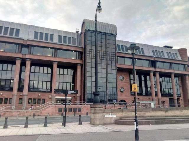 The case is being heard at Newcastle Crown Court.