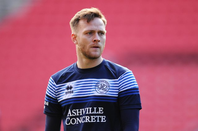 Todd Kane of Queens Park Rangers looks on as he warms up prior to the Sky Bet Championship match between Bristol City and Queens Park Rangers at Ashton Gate.