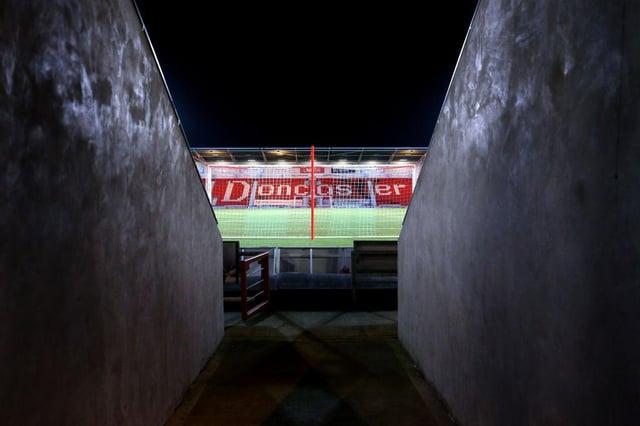 The Keepmoat Stadium.