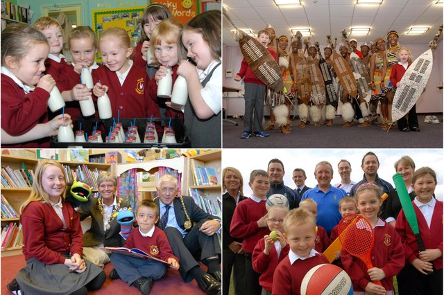 How many faces do you recognise in these Valley View Primary School archive photos?
