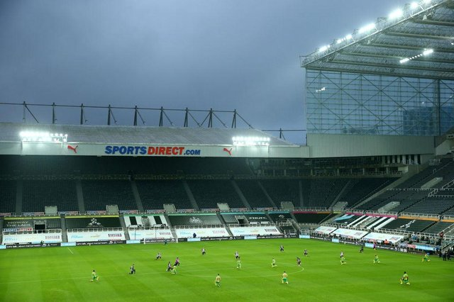 St James's Park, the home of Newcastle United Football Club. (Photo by Jan Kruger/Getty Images)