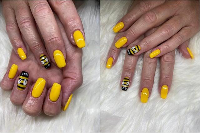 Hebburn Hornet nails by Hebburn Halo