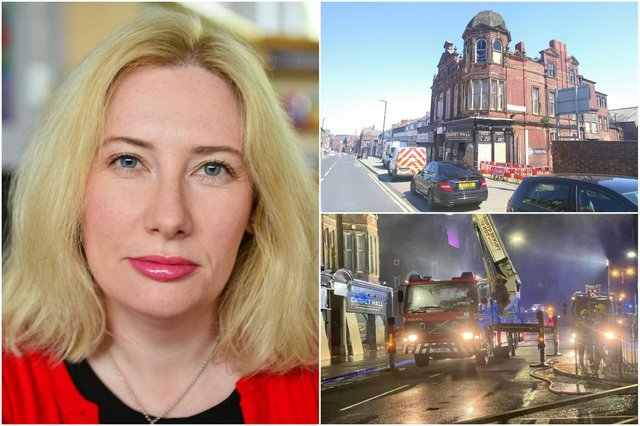 South Shields MP Emma Lewell-Buck will raise the question of what will happen next to the Victoria Hall with South Tyneside Council following the a fire. Scene pictures used with thanks to Liam Christopher Walker.