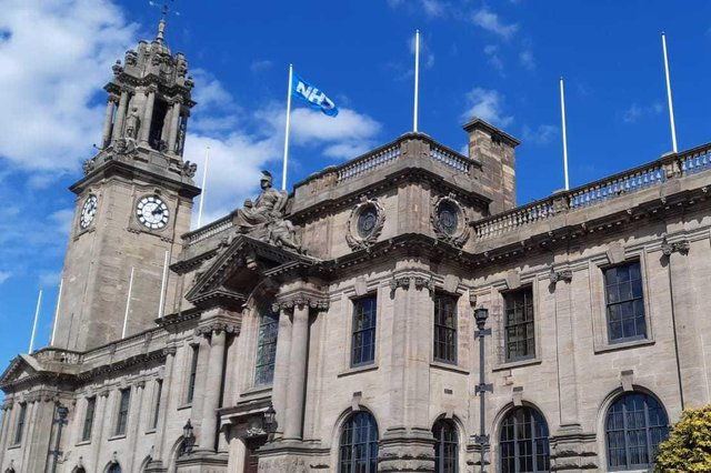 The meeting was held at South Shields Town Hall.