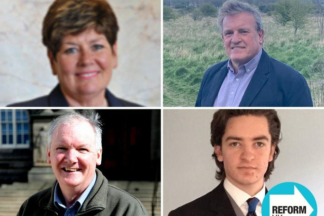 The candidates for Cleadon and Boldon