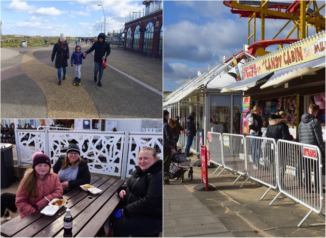 Were you out and about in South Shields on Easter Monday?