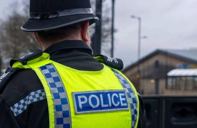 Police are appealing for information after an elderly couple were hospitalised following a suspected hit and run involving two cyclists.