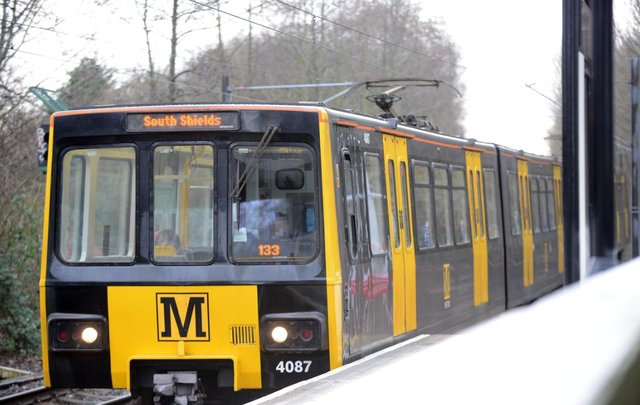 The incident happened on a Metro carriage