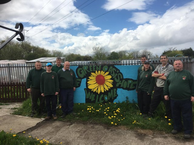 TheNECA Community Garden project has been given theQueen's Award for Voluntary Service