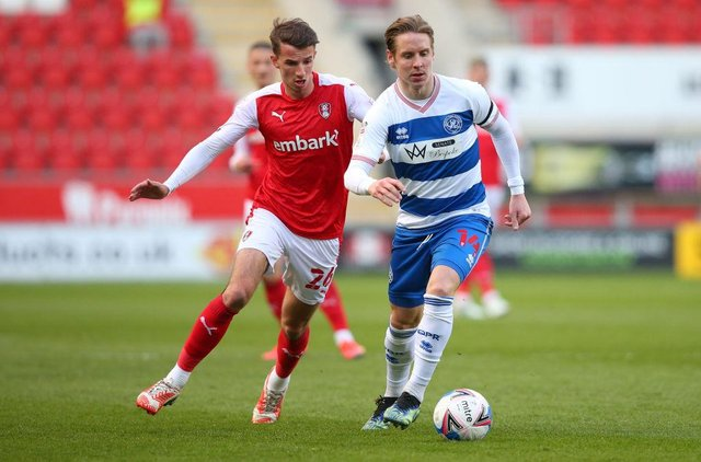 Dan Barlaser left Newcastle United for Rotherham United last summer. (Photo by Alex Livesey/Getty Images)