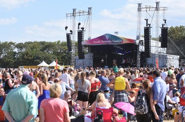 A previous gig at Bents Park
