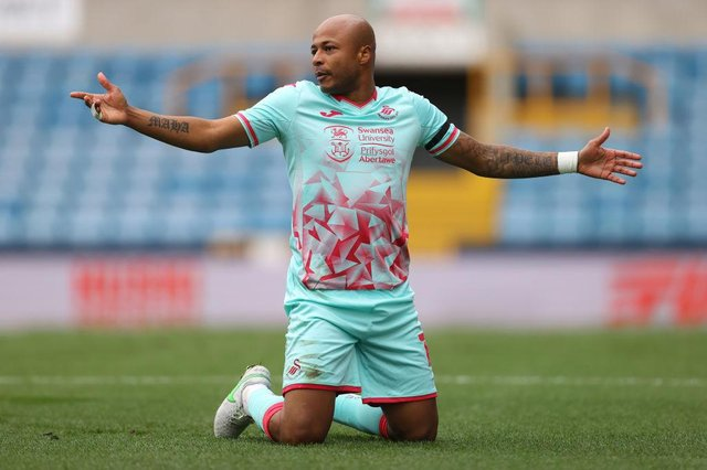 Andre Ayew.  (Photo by Julian Finney/Getty Images)
