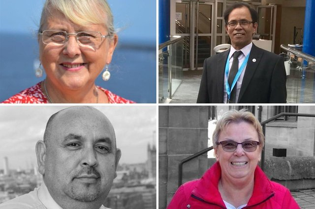 The Beacon and Bents candidates