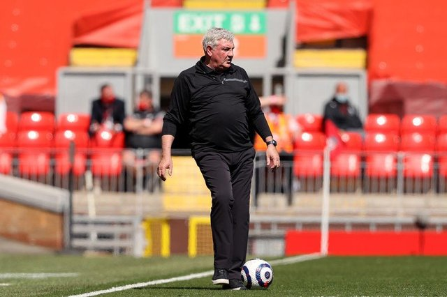 Steve Bruce, Manager of Newcastle United.  (Photo by Clive Brunskill/Getty Images)