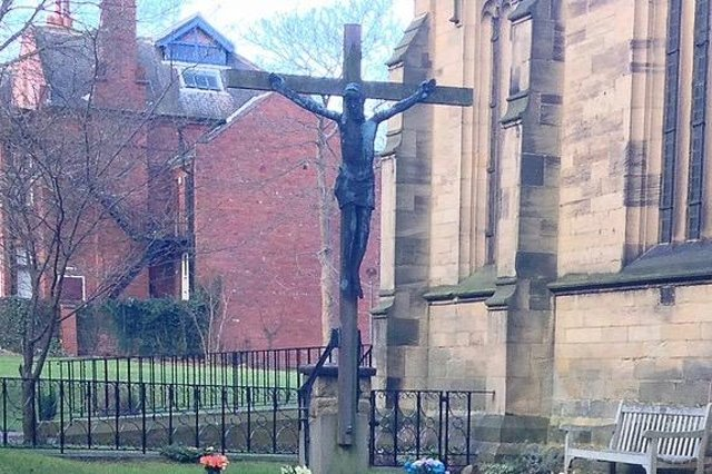 Police are appealing for help to see the crucifix returned