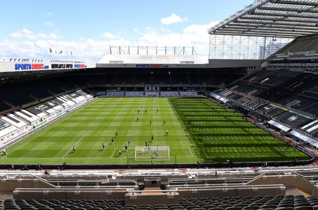 Newcastle United entertain West Ham United in the Premier League. (Photo by Laurence Griffiths/Getty Images)