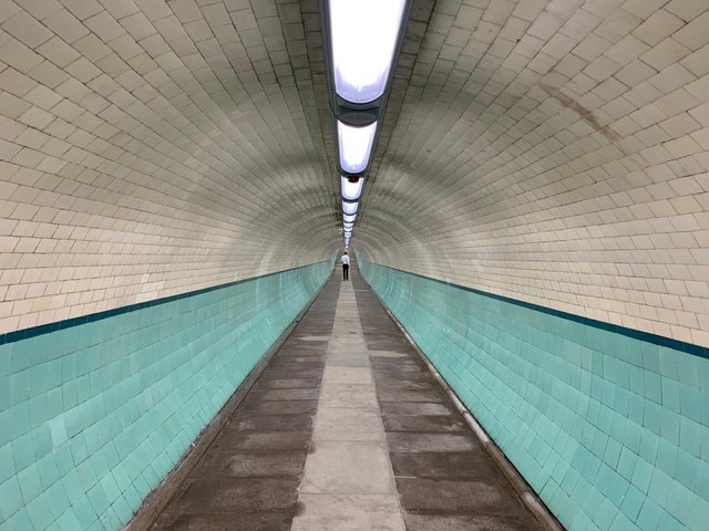 The Tyne Pedestrian and Cyclist Tunnel improvements have been dogged by problems, with spiraling costs.