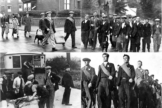 Men on a mission in 1936. 10 scenes from the Jarrow Crusade.