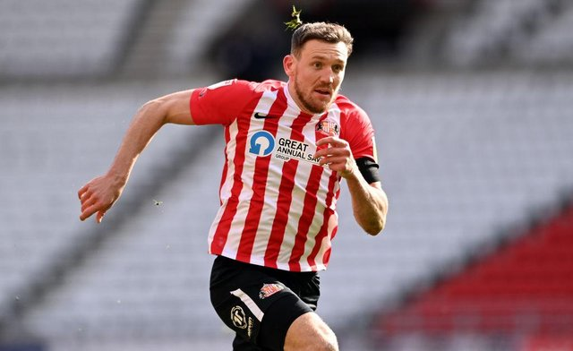 Sunderland player Charlie Wyke is attracting interest from the Championship (Photo by Stu Forster/Getty Images)