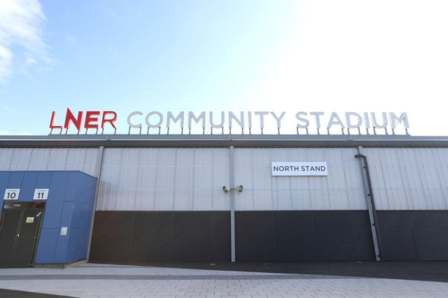 The LNER Community Stadium in York.