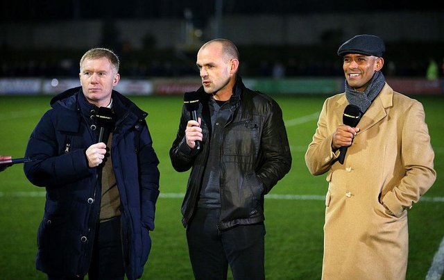 TalkSPORT pundit Trevor Sinclair. (Photo by Alex Livesey/Getty Images)